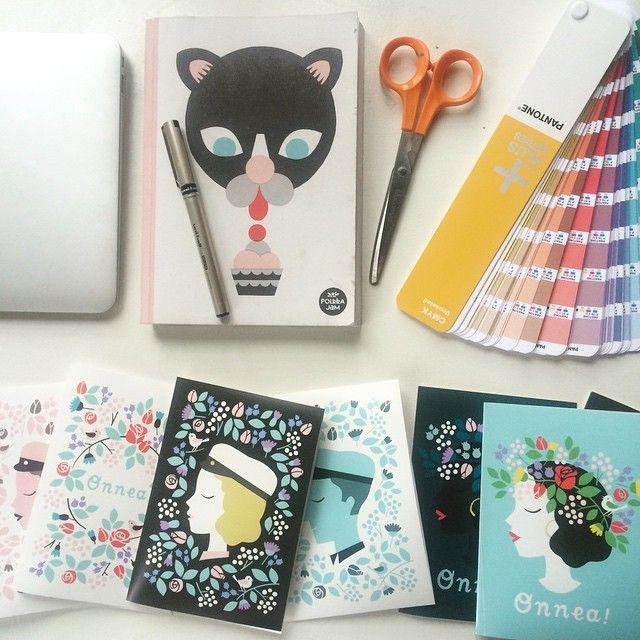 Color proofs #spring #polkkajam #cards