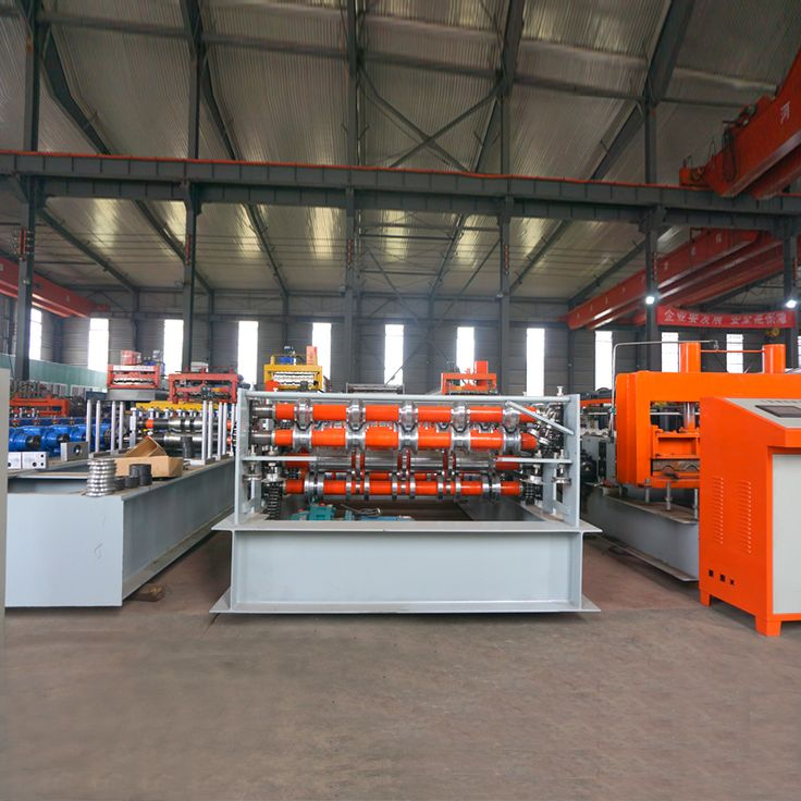 KXD Double Layer Roofing Roll Forming Machine, metel sheet roll forming machine