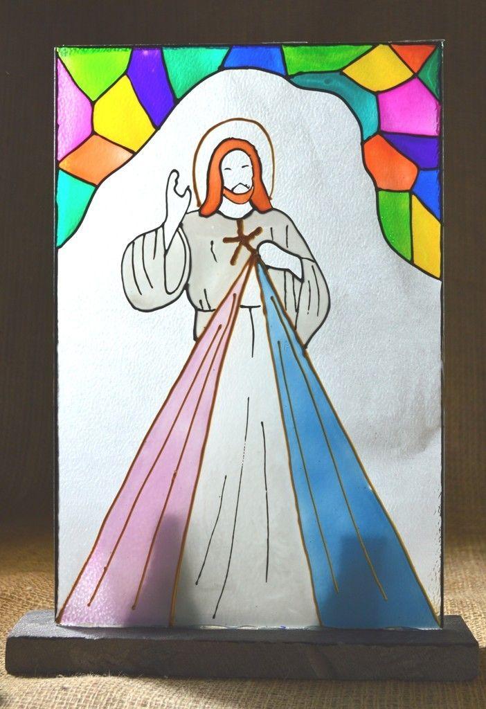 VITRAL JESUS MISERICORDIA
