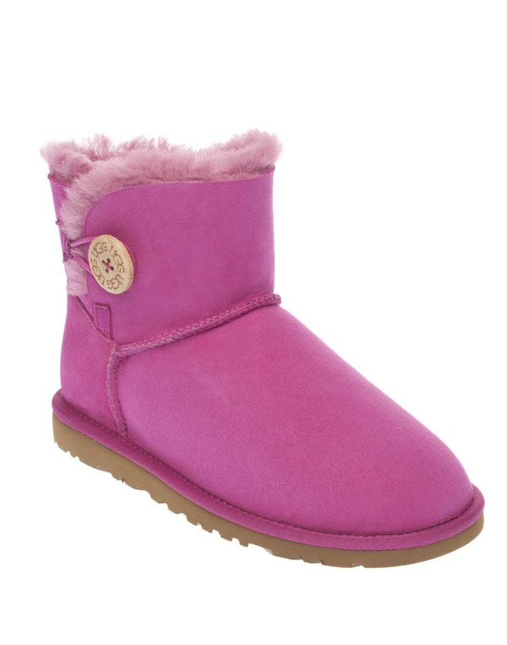 UGG | Mini Bailey Boots in Pink - Women - Style36