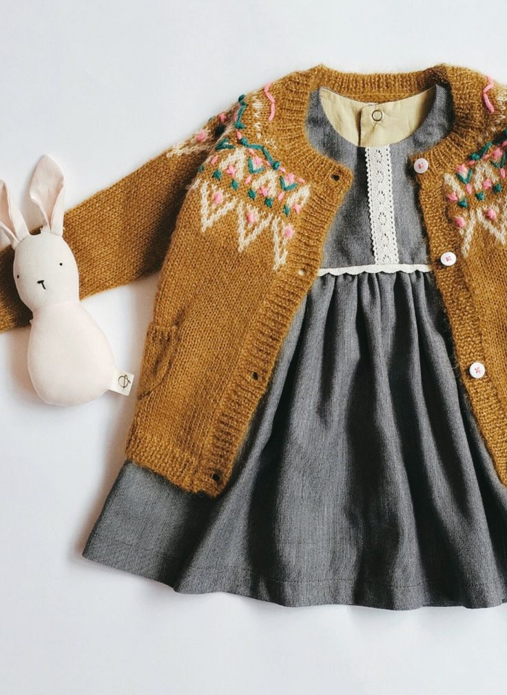 Handmade Cotton & Lace Baby Dress | Unpourtous on Etsy