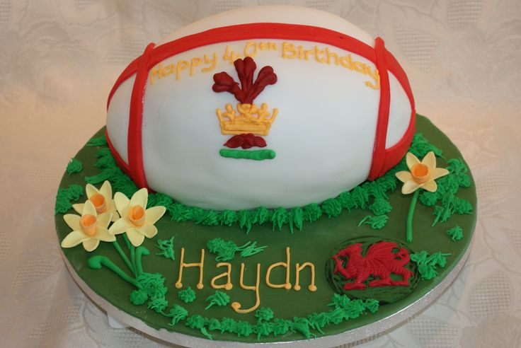welsh rugby wedding cake topper 24 best images about cooking sport cakes on 27014