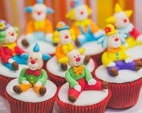 Cupcakes Circo