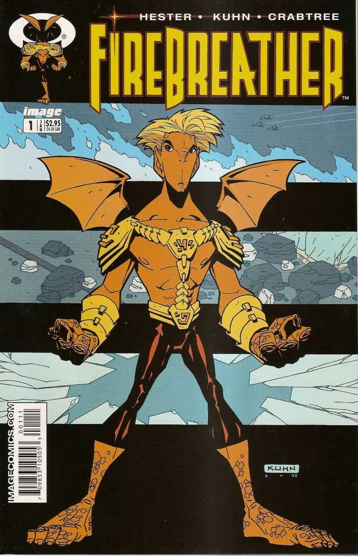 Firebreather Vol 1 1 Cover Art By Andy Kuhn Series Arte Nerd Comics