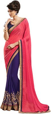 Aparnaa Self Design Embroidered Embellished Georgette Sari - Buy Blue, Pink Aparnaa Self Design Embroidered Embellished Georgette Sari Online at Best Prices in India | Flipkart.com   MRP: Rs. 12,545 Rs. 8,154 35% OFF Selling Price EMI starts from Rs. 729 (Free delivery)
