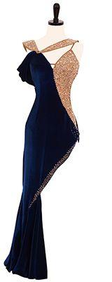 Latin/ballroom dress - Beautiful neckline