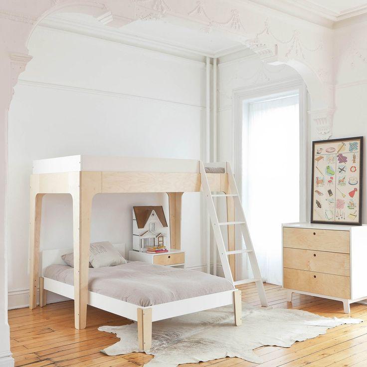 OEUF NYC - Lit superposé Perch Bouleau www.smallable.com/lit-enfant/35751-lit-superpose-perch-bouleau.html