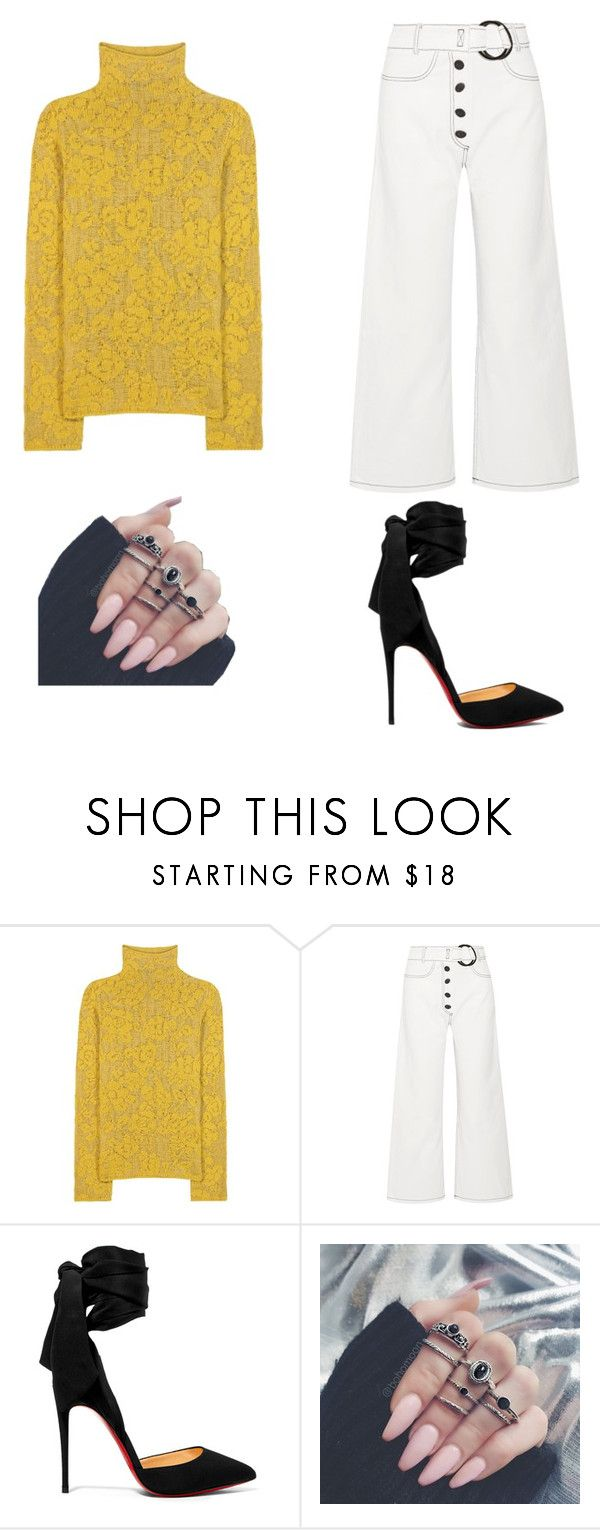 """Untitled #223"" by denysa-boldog on Polyvore featuring Etro, Rejina Pyo and Christian Louboutin"