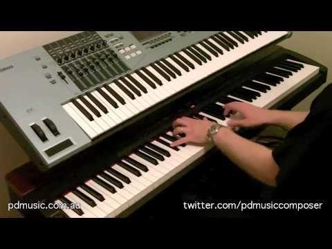 The News (Original Solo Piano) by Paul Doolan, Music Composer, on Yamaha P-155 Digital Piano