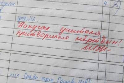 Обхохочешься: смешные замечания из школьных дневников