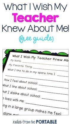 Love this way to get to know students. It's perfect for back to school, getting new students, and revamping classroom management.