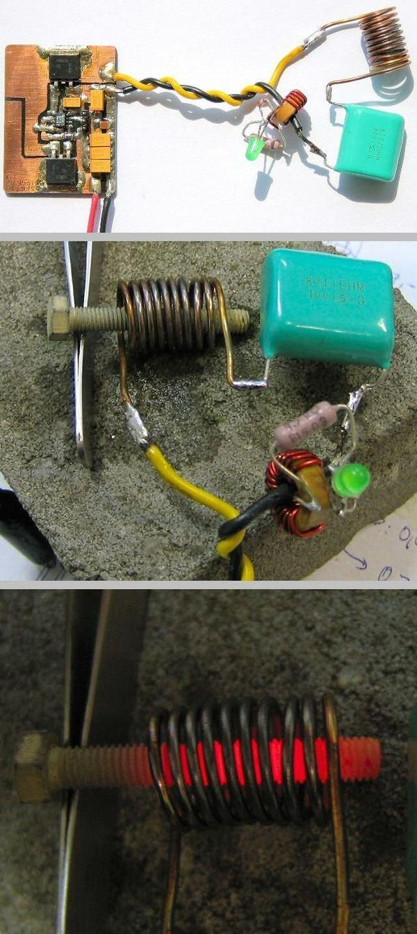 DIY induction cooker/heater