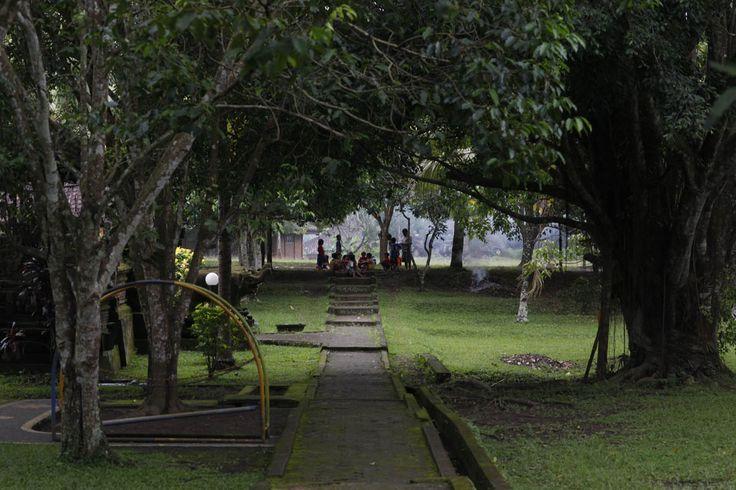 The village yard