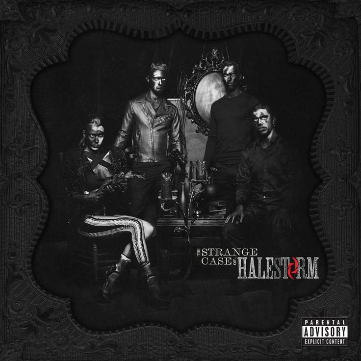 The Strange Case of… Halestorm (2012) Album Cover