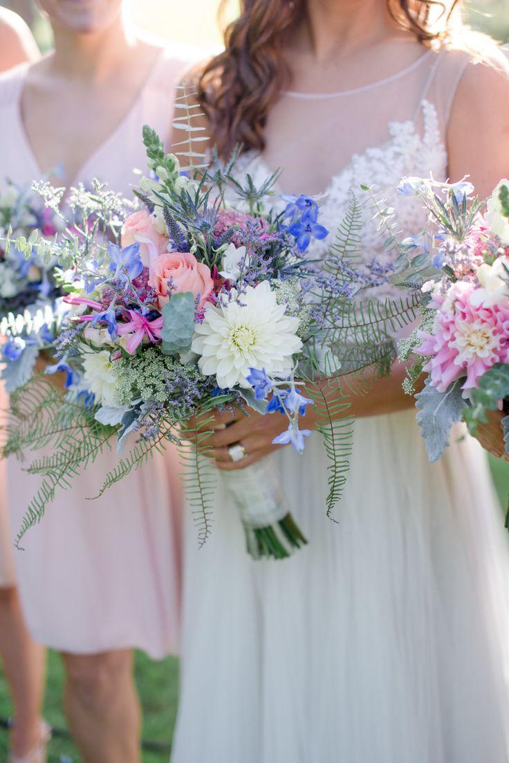 Boho beauties | Photography: Christie Graham Photography - www.christiegrahamphotography.com  Read More: http://www.stylemepretty.com/canada-weddings/2015/04/20/romantic-boho-wedding-on-vancouver-island/