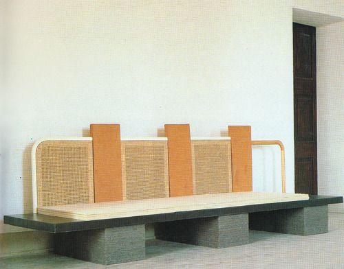 Pier Paolo Calzolari, Panca Sofa for Metamemphis, 1989