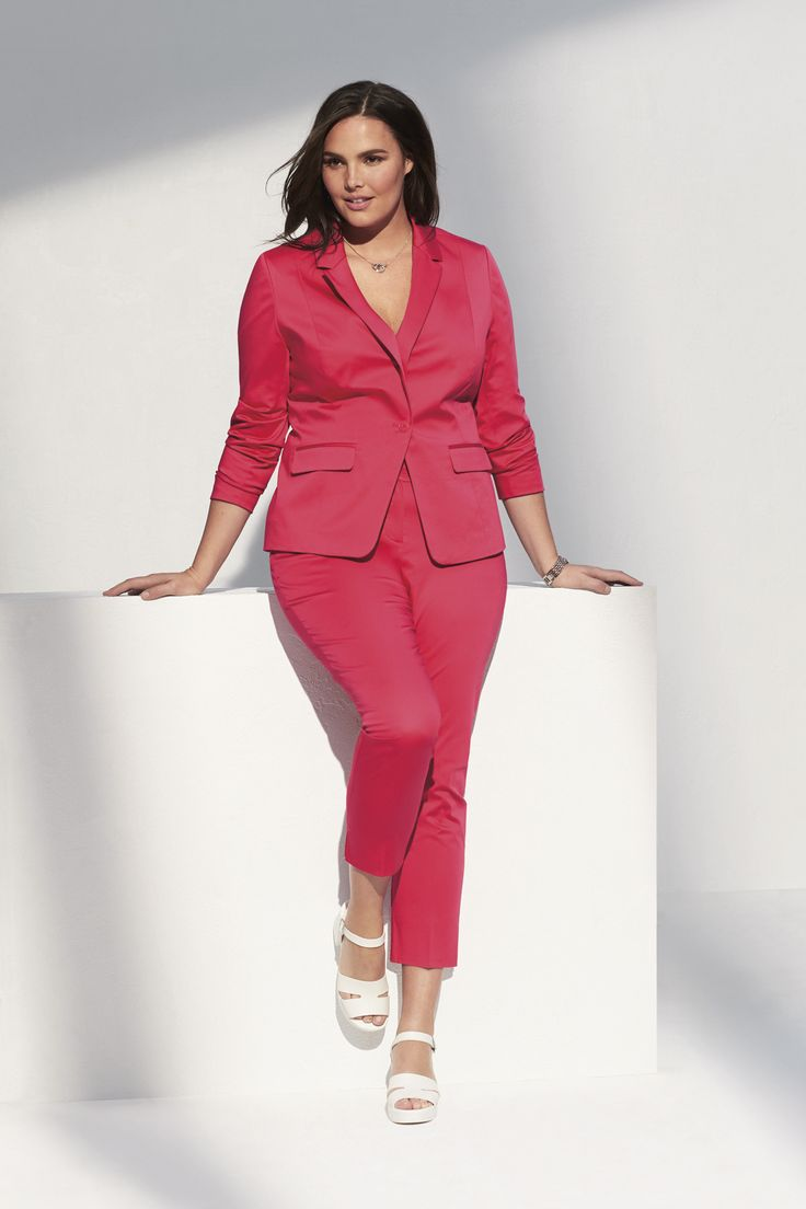 This cotton-sateen blazer is your new summer staple.