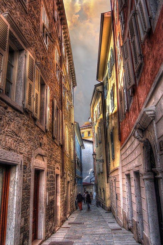 Trieste-cittavecchia- İtaly
