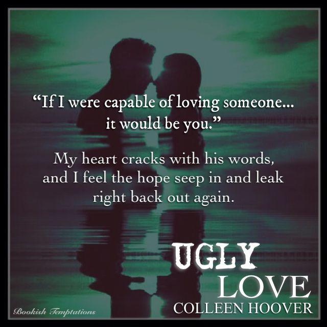 #UglyLove @colleenhoover