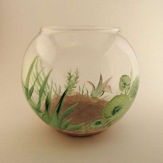 Best 25 small fish tanks ideas on pinterest freshwater for Fish bowl with plant on top