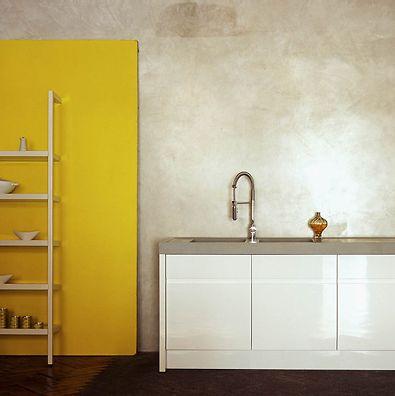 Vrijdag VerfTipDag >> Haal het voorjaar in huis met #geel. Is een hele wand #kleur te veel? Kies dan voor een flexibel paneel
