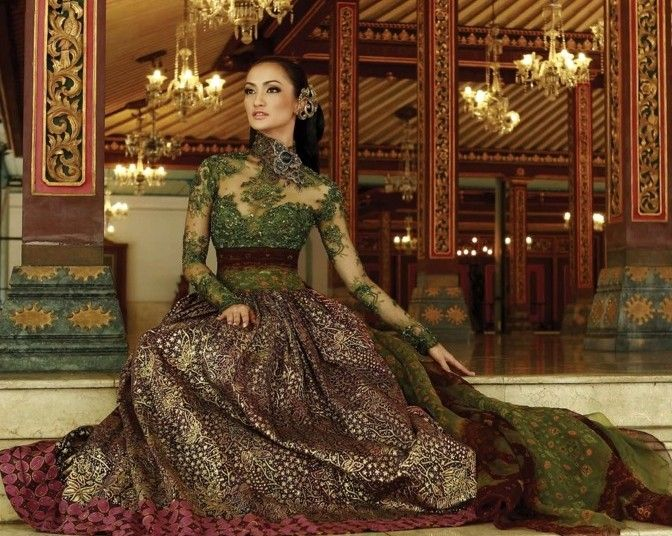 super pretty kebaya by anne avanti