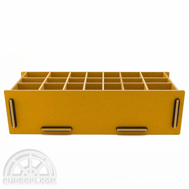 【werkhaus/ヴェルクハウス】ペンボックス XL (ゴールデンイエロー) - 文房具通販|ブンドキ.com