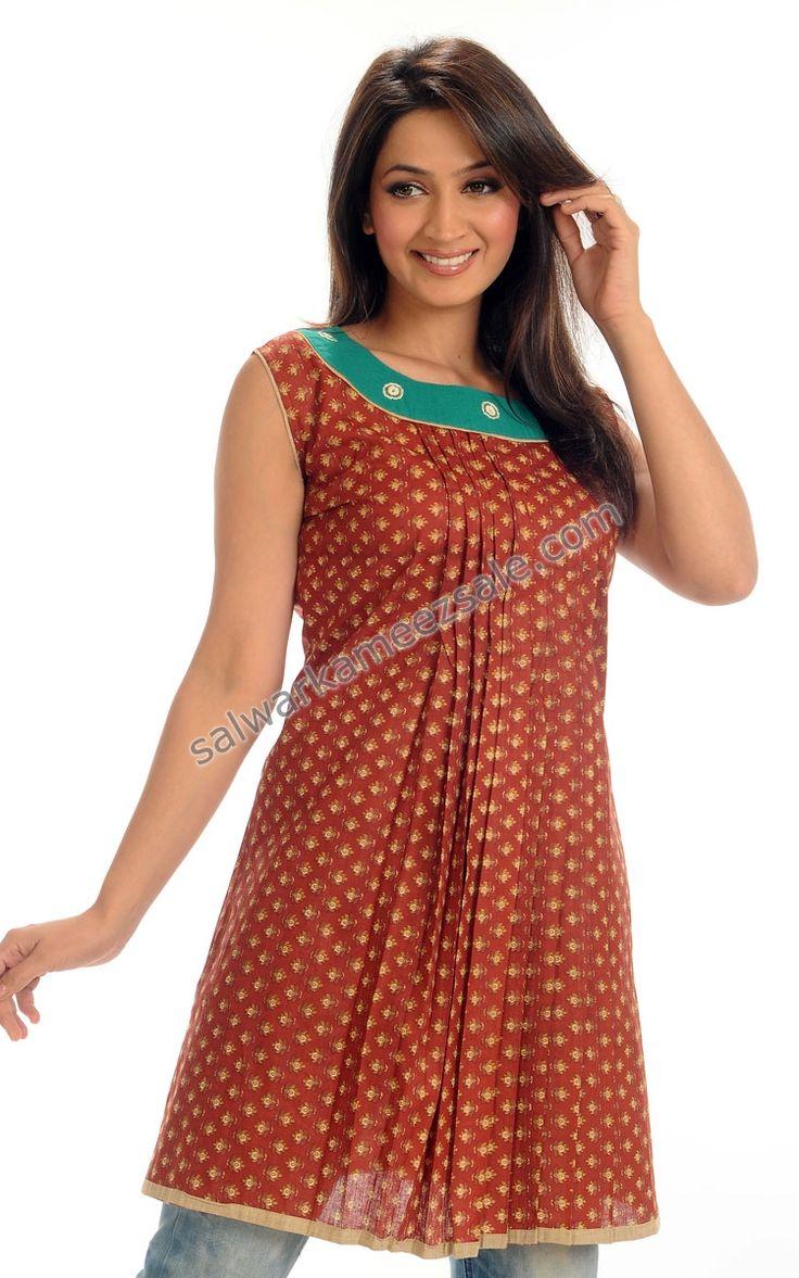 Indian Tunic and Kurtis - Designer Indian Kurtis-NOMK52