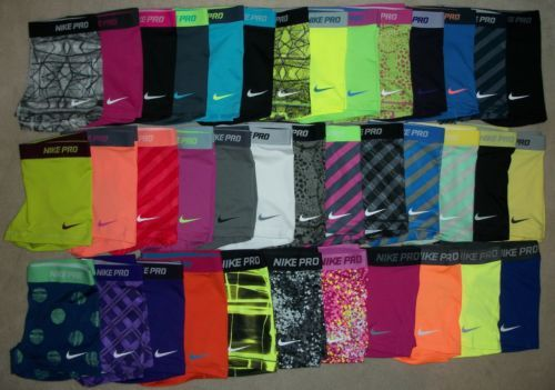 """Nike Pro Core Essential Compression Shorts 2.5"""" (1-Pair) Spandex Yoga Tights Im in heaven!!!!1"""