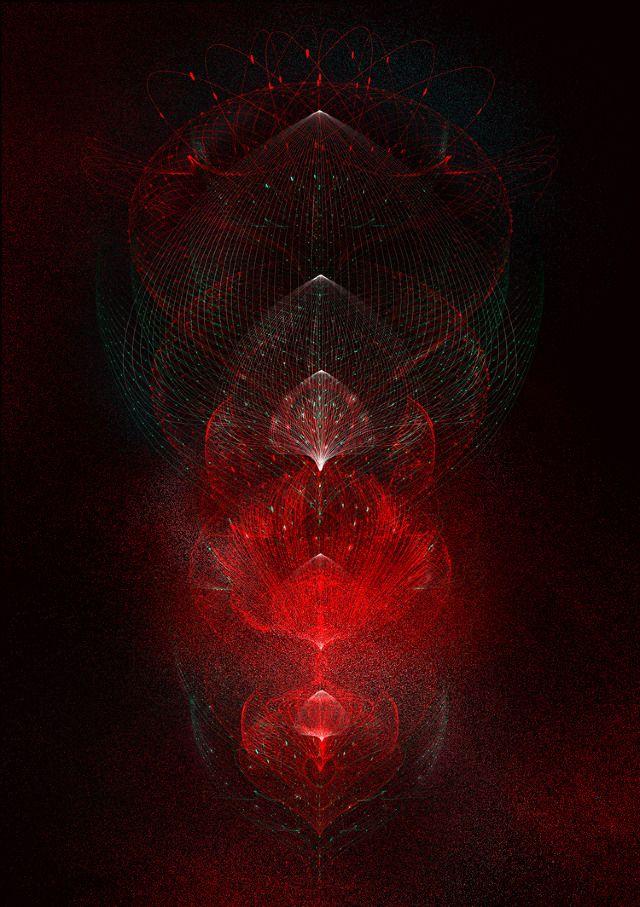 Tatiana Plakhova. Red Complexity Graphics