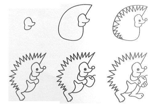 Meer dan 1000 ideeën over Easy Animal Drawings op Pinterest - Dieren ...