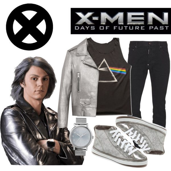 """X-Men Days of Future Past: Quicksilver"" by offthepaige on Polyvore"