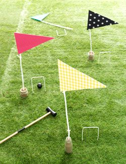 I could make this croquet set