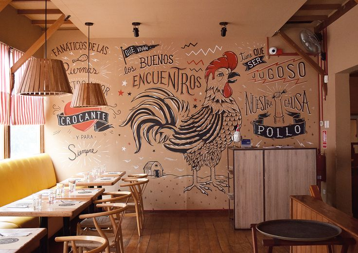 """Rotisserie chicken restaurants are one of the most popular type of restaurants in Lima, being part of Peruvian food for many years now. Primos Chicken Lovers Bar wanted to honor the """"chicken Fanatics"""" by giving them a rockstar status. The identity present…"""