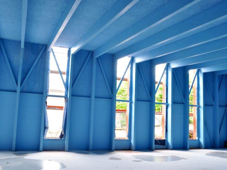 Módulos prefabricados para el cerramiento de las fachadas del nuevo aulario #arquitectura