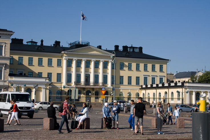 The Presidential Palace in Helsinki by Aili Alaiso