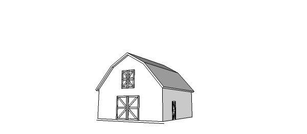 30x30 gambrel barn plans home furniture pinterest for 30x30 garage kits