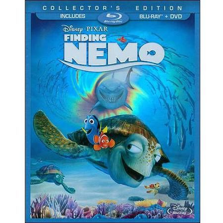 Finding Nemo (2-Disc Blu-ray + DVD) (Widescreen) - Walmart.com for all kids