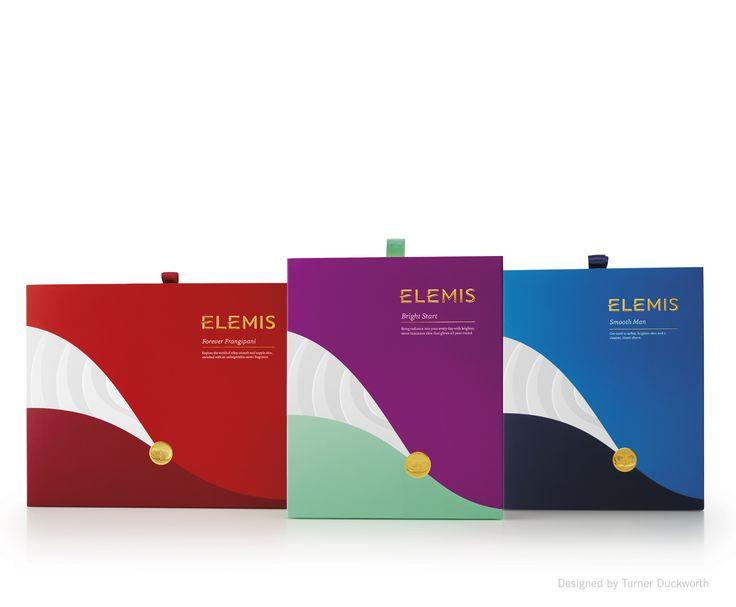 ELEMIS Christmas packaging. Designed by Turner Duckworth.