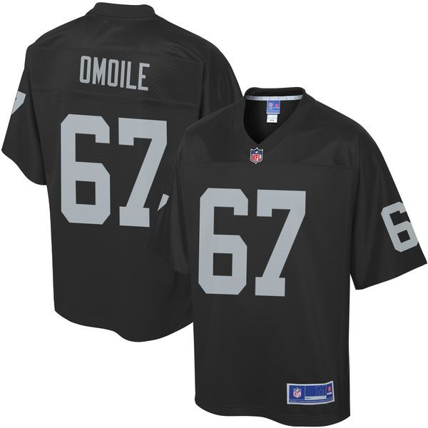 Oni Omoile Oakland Raiders NFL Pro Line Youth Player Jersey - Black - $74.99