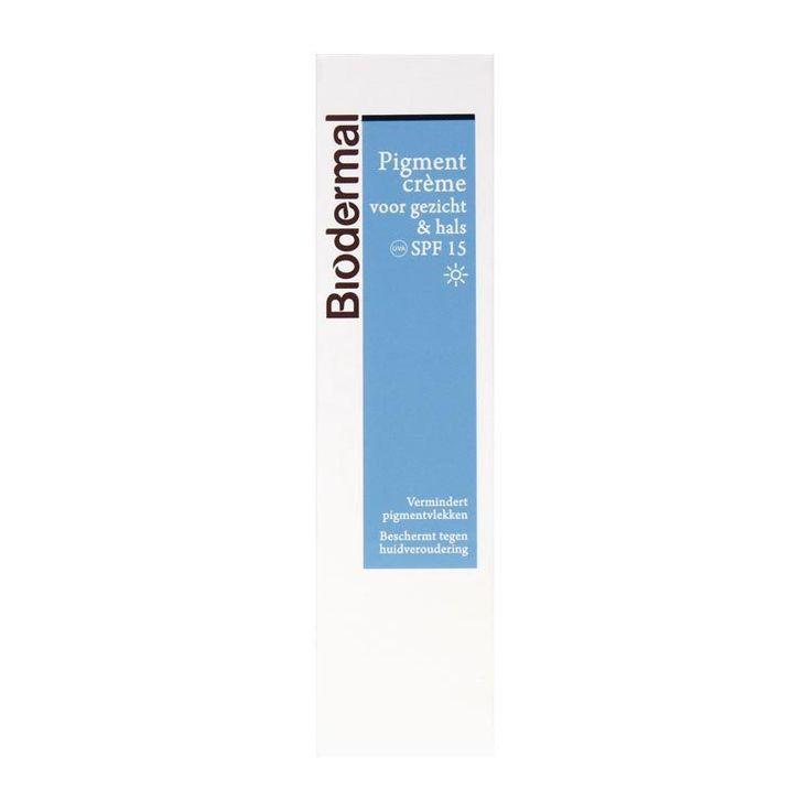 Biodermal Pigmentcreme Hals & Gezicht 50ml