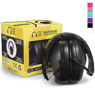 Pro For Sho 34dB Shooting Ear Protection, Lighter Weight & Maximum Hearing Protection
