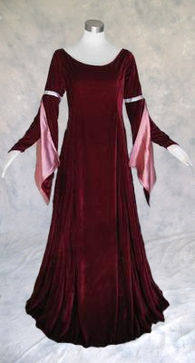 Medieval Renaissance Gown Dress