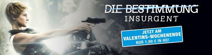 Zum Happy #Valentinstag gibts den SciFi-Kracher von uns für Euch für nur 1,99 € in HD! https://www.videociety.de/insurgent-die-bestimmung-film-leihen