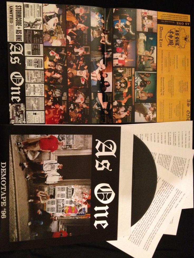 "AS ONE 10"" Live demotape"