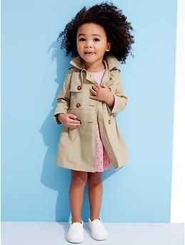 Spring Trench coat for Girls