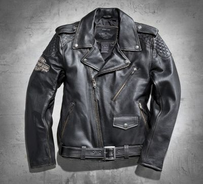 Men's Vintage Leather Biker Jacket -- Do a good deed, Feel free to DM me for my address and size. Thanks.