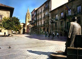 Plaza Porlier. Oviedo. Asturias. Spain