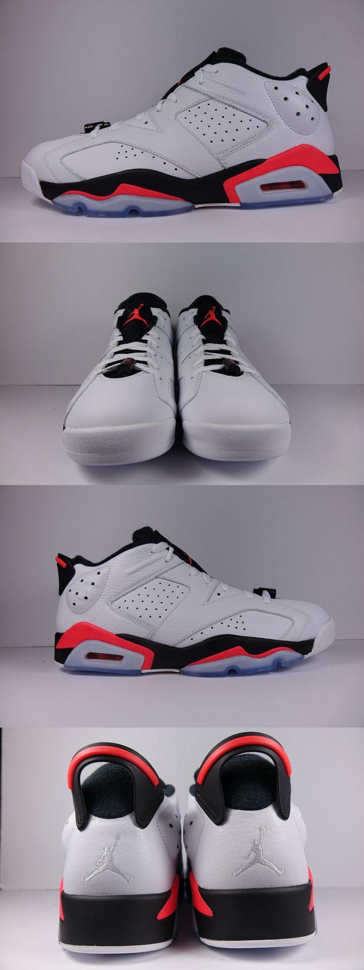 Basketball: Nike Air Jordan Retro Vi 6 Low Infrared White Size 12 Brand New -> BUY IT NOW ONLY: $169.99 on eBay!
