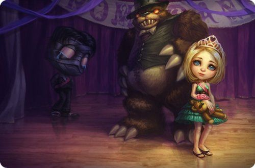 League of Legends LOL Prom Queen Annie with Amumu Mouse Pad b94ae4c190